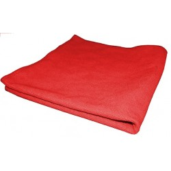 ABIO14 - Microfibre multi-surfaces picots 40 x 40 rouge