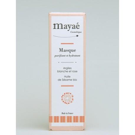 Masque purifiant hydratant Mayaé